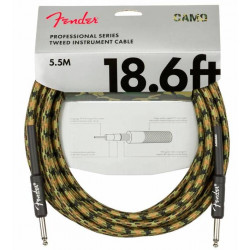 FENDER CABLE PROFESSIONAL SERIES 18,6' WOODLAND CAMO