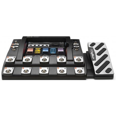 DIGITECH IPB10 iPad™ Integrated Programmable Pedalboard