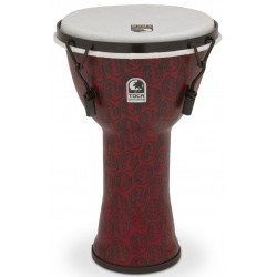 """TOCA TF2DM-9RM 9"""" Freestyle II Djembe, Red Mask"""
