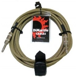 DIMARZIO EP1718SS INSTRUMENT CABLE 18ft (VINTAGE TWEED)