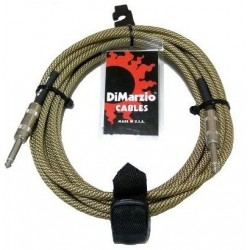 DIMARZIO EP1715SS INSTRUMENT CABLE 15ft (VINTAGE TWEED)