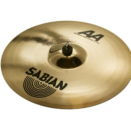 "SABIAN 16"" AA Medium Thin Crash Brilliant (21607B)"