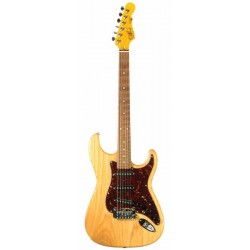 G&L S500 (Natural Gloss. 3-ply Tortoise Shell. Rosewood)