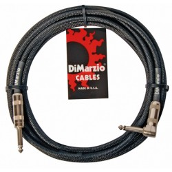 DIMARZIO EP1710SR INSTRUMENT CABLE 10ft (BLACK)