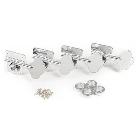 FENDER TUNING MACHINES FOR PURE VINTAGE '70S BASS NICKEL/CHROME