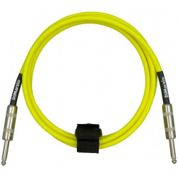 DIMARZIO EP1710SS INSTRUMENT CABLE 10ft (NEON YELLOW)