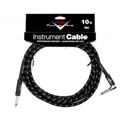 FENDER CUSTOM SHOP PERFORMANCE CABLE 10' BTW