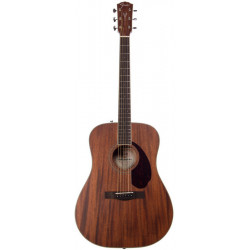 FENDER PM-1 DEADNOUGHT ALL MAHOGANY WITH CASE NATURAL