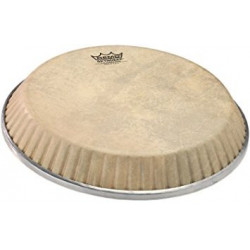 """REMO Conga Drumhead, Symmetry, 13.00"""" D1, SKYNDEEP®, """"Calfskin"""" Graphic"""