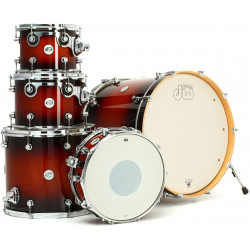 DW DESIGN SERIES 5-PIECE SHELL PACK (TOBACCO BURST)