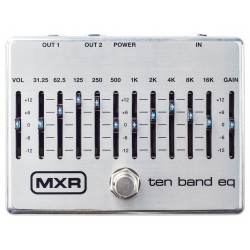 Dunlop M108S MXR 10-Band Graphic EQ‎
