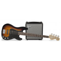 FENDER SQUIER PJ BASS PACK BROWN SUNBURST