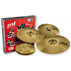 PAISTE 3 UNIVERSAL SET + CRASH 14""