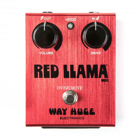 WAY HUGE RED LLAMA OVERDRIVE MKII