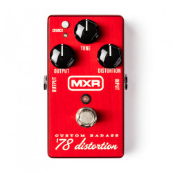Dunlop M78 MXR Custom Badass '78 Distortion