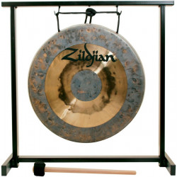 ZILDJIAN 12' TRADITIONAL GONG AND TABLETOP STAND SET
