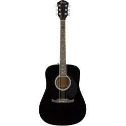 FENDER FA-125 DREADNOUGHT ACOUSTIC BLACK