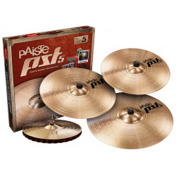 PAISTE 5 UNIVERSAL SET + CRASH 16""