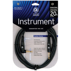 PLANET WAVES PW-GRA-20 Custom Series Instrument Cable 20ft