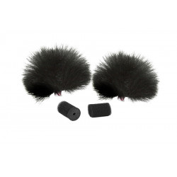 Rycote Windjammer Lavalier Black (pair)