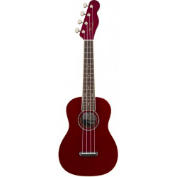 FENDER UKULELE ZUMA CONCERT CANDY APPLE RED