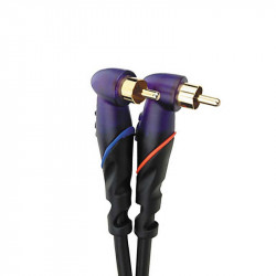 Monster DJ Cables 2 m pair Angled RCA to RCA (2 м)