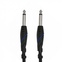 Monster Standard 100 Instrument Cable - 21 ft. angled 1/4 plugs (6,4 м)
