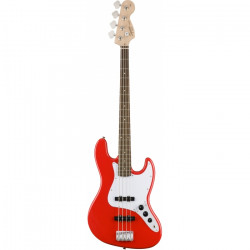 SQUIER by FENDER AFFINITY JAZZ BASS LRL RACE RED