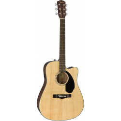 FENDER CD-60SCE WN NATURAL