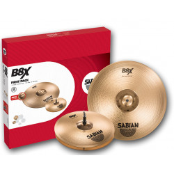 SABIAN 45011X B8X First Pack (14)