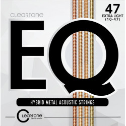 CLEARTONE 7810 EQ HYBRID METAL ACOUSTIC ULTRA LIGHT 10-47