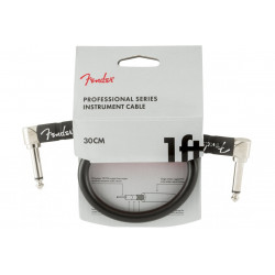 FENDER CABLE PROFESSIONAL SERIES 1' BLACK