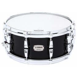 """YAMAHA AMS1460 SOB - Absolute Hybrid Maple Snare 14"""" (Solid Black)"""