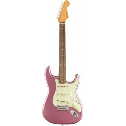 FENDER VINTERA '60s STRATOCASTER MODIFIED PFN BURGUNDY MIST METALLIC