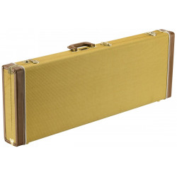 FENDER CLASSIC SERIES WOOD CASE - STRAT/TELE TWEED