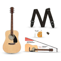 FENDER FA-115 DREADNOUGHT PACK NATURAL WN V2