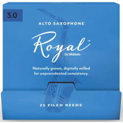 D`ADDARIO RJB0130-B25 Royal by D'Addario - Alto Sax #3.0 - 25 Box