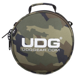 UDG ULTIMATE DIGI HEADPHONE BAG BLACK CAMO, ORANGE/INS