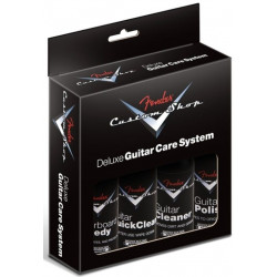 FENDER CUSTOM SHOP DELUXE GUITAR CARE SYSTEM 4 PACK