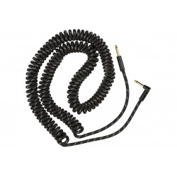 """FENDER CABLE DELUXE COIL 30"""" BLACK TWEED"""