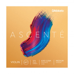 D`ADDARIO A310 3/4M Ascenté Violin Strings 3/4M