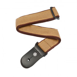 PLANET WAVES PW50B06 Woven Guitar Strap, Tweed