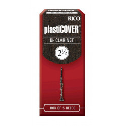 RICO Plasticover - Bb Clarinet #2.5 - 5 Box