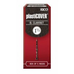 RICO Plasticover - Bb Clarinet #1.5 - 5 Box