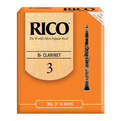 RICO Rico - RCA1230 - Bb Clarinet 3.0 - 12 Box