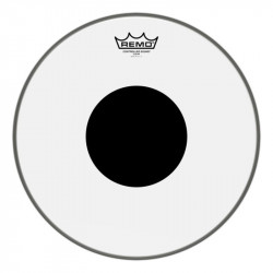 "REMO CS 12"" CLEAR BLACK DOT"