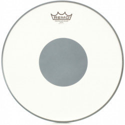 "REMO CONTROLLED SOUND, Coated, 12"" Diameter, BLACK DOT On Bottom, Batter"
