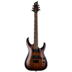 LTD H-200FM (Dark Brown Sunburst)