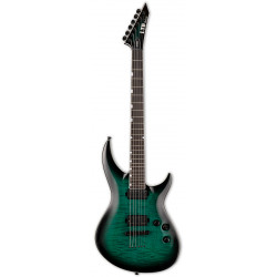 LTD H3-1000FM (Black Turquoise Burst)