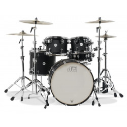 DW Design Series 5-Piece Shell Pack (Black Satin)